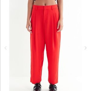 Urban Outfitters Arlo Red Pants